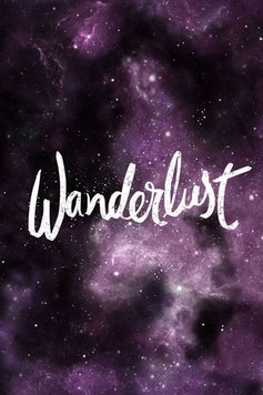 Estampa Camiseta Wanderlust
