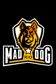 Estampa Camiseta Mad Dog