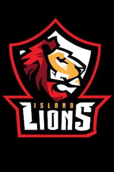 Estampa Camiseta Island Lions