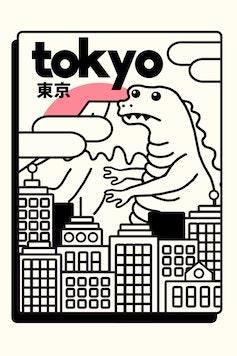 Estampa Camiseta Tokyo