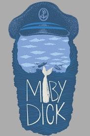 Estampa Camiseta Moby Dick