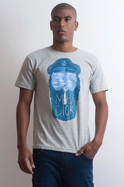 Camiseta Moby Dick