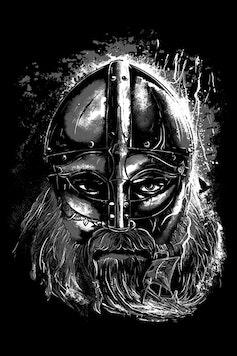 Estampa Camiseta Viking