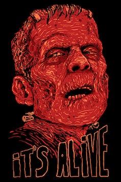 Estampa Camiseta It's Alive