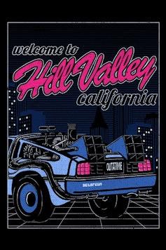Estampa Camiseta Hill Valley