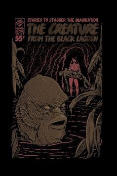 Estampa Camiseta Black Lagoon