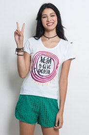 Camiseta Seja