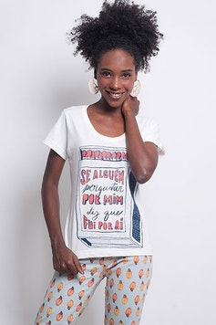 Camiseta Por Aí