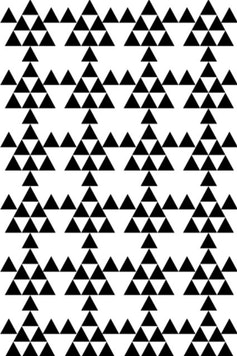 Estampa Camiseta Triângulos