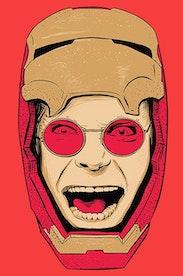 Estampa Camiseta Iron Mad Man