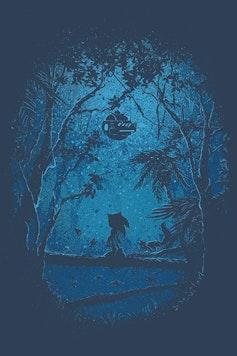 Estampa Camiseta Hedgehog
