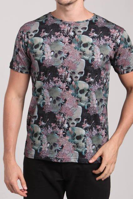 Camiseta Caveiras