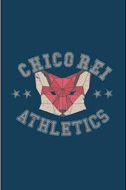 Estampa Camiseta Cropped College Fox