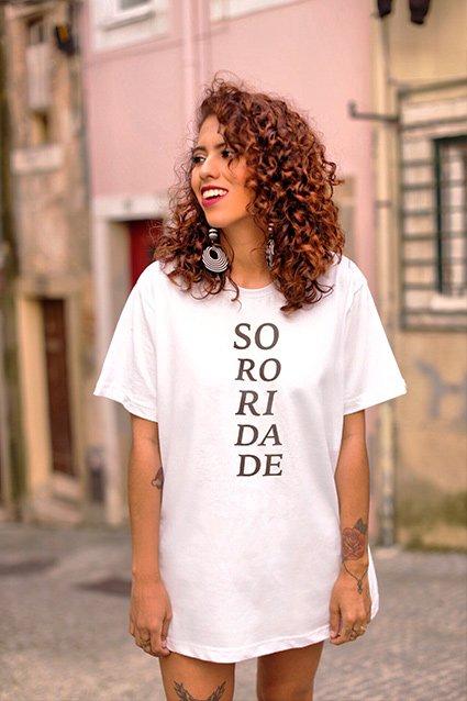 Camiseta Camiseta Sororidade