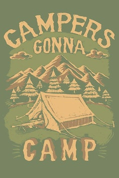 Estampa Camiseta Campers