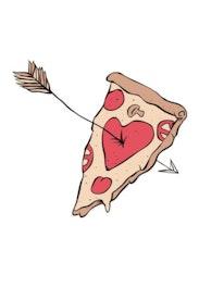 Estampa Camiseta Pizza Lover