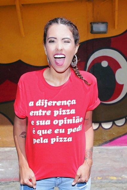 Camiseta Camiseta Opinião