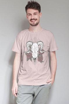 Camiseta Ram Skull