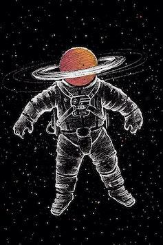 Estampa Camiseta Saturn