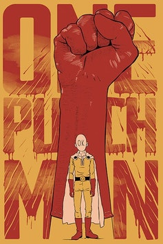 Estampa Camiseta One Punch-Man