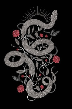 Estampa Camiseta Snake