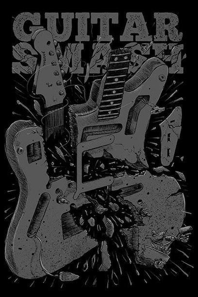 Camiseta Guitar Smash