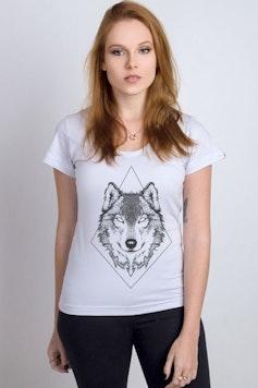 Camiseta Inked Wolf