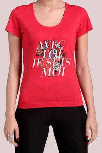 Camiseta Avec Toi