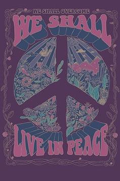 Estampa Camiseta Live in Peace