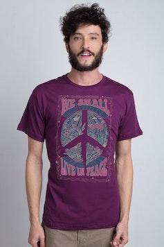 Camiseta Live in Peace