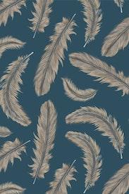 Estampa Camiseta Feathers