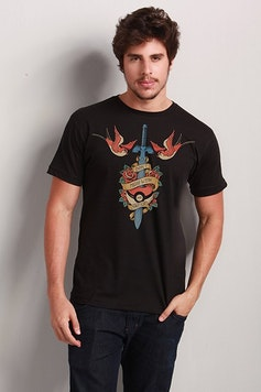 Camiseta Geek Tattoo