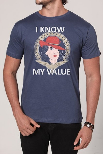 Camiseta I Know My Value