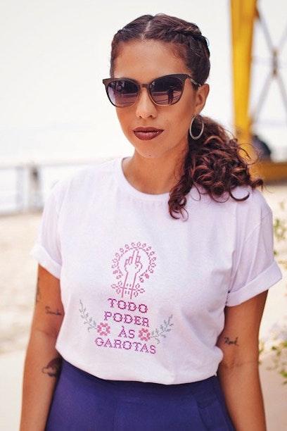 Camiseta Todo Poder às Garotas