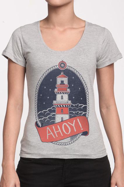 Camiseta Ahoy