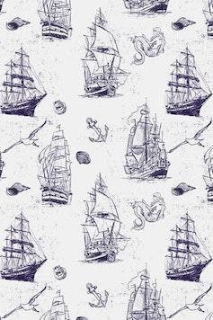 Estampa Camiseta Navy