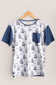 Camiseta Navy