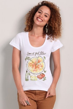 Camiseta Love at first bite