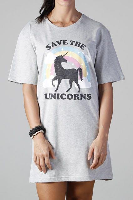 Camiseta Save the Unicorns