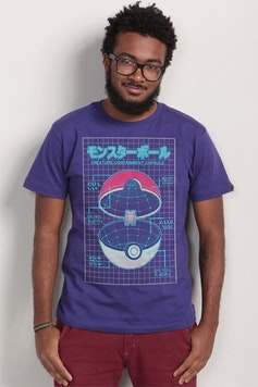 Camiseta Pokeball
