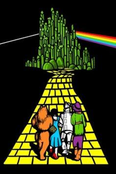 Estampa Camiseta The Dark Side Of Oz