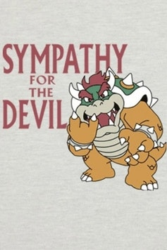 Estampa Camiseta Sympathy For The Devil