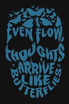 Estampa Camiseta Even Flow