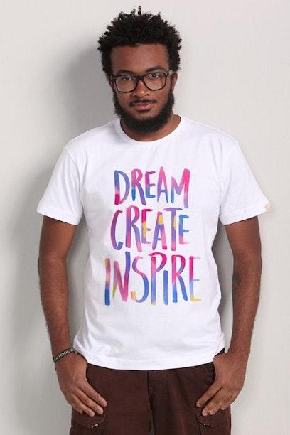 Camiseta Dream, Create, Inspire