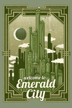 Estampa Camiseta Emerald City