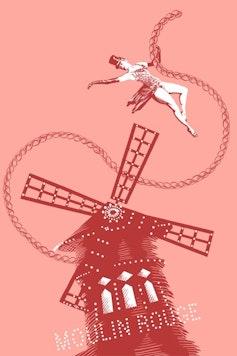 Estampa Camiseta Moulin Rouge