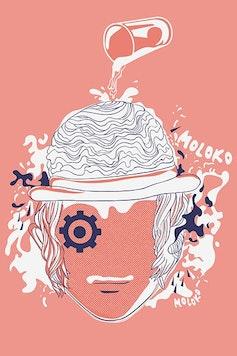 Estampa Camiseta Clockwork Orange