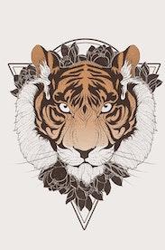 Estampa Camiseta Spirit Animal