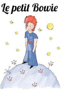 Estampa Camiseta Le Petit Bowie
