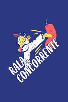 Estampa Camiseta Rala Concorrente